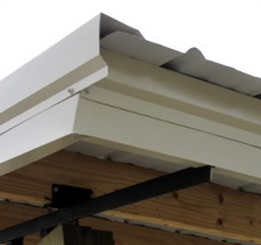 Standard Kit W/ Gable Trim, Fascia And Drip Edges
